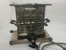 UNUSED ANTIQUE VINTAGE 1910  'UNIVERSAL' SWING DOOR 240 VOLT  ELECTRIC TOASTER