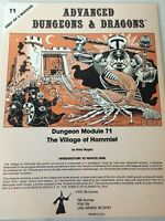 AD&D 1st Ed Module  T1 THE VILLAGE OF HOMMLET 1ST PRINT Dungeons & Dragons
