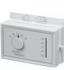 White Rodgers 1F56N-444 Mercury Free Mechanical Thermostat, Heat-Cool