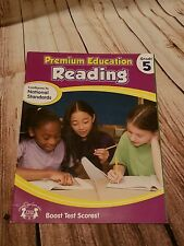 5th Grade Reading Workbook Tutor Teacher Homeschool Tutoring Literacy
