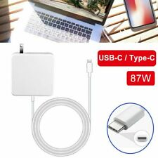 """87W USB-C Power Supply Adapter Charger for Apple MacBook Pro 13"""" 15"""" 2016 - 2019"""