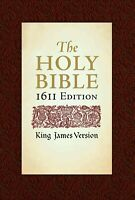 King James Version 1611 Edition with the Apocrypha BRAND NEW IN SHRINK WRAP