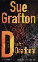D is for Deadbeat: A Kinsey Millhone mystery By Sue Grafton