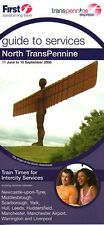 First Trans Pennine Railway timetable 2006