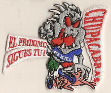 """Chupacabras"" Embroidered Patch New"