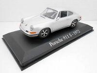 1/43 COCHE PORSCHE 911 S CARRERA  IXO RBA  1:43 METAL MODEL CAR MINIATURA