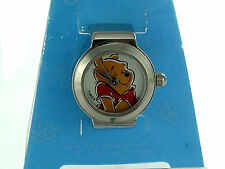 TIMEX WINNIE the POOH Character Ring Watch Analog Strech Band