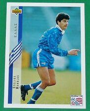 FOOTBALL CARD UPPER DECK 1994 USA 94 STELIOS MANOLAS GRECE GREECE HELLAS