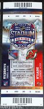 2014 NHL Stadium Series UNUSED Ticket Stub NY Rangers NJ Devils MINT York Jersey