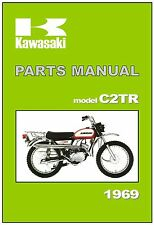 KAWASAKI Parts Manual C2TR Roadrunner 1969 Replacement Spares Catalog List