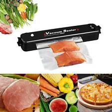 Food Vacuum Sealer Packing Machine Kitchen Sous Vide Storage Keep Fresh 15 Bag