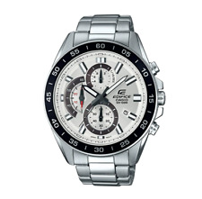 Men's Casio Edifice Chronograph Stainless Steel Watch EFV-550D-7AV Neo-display