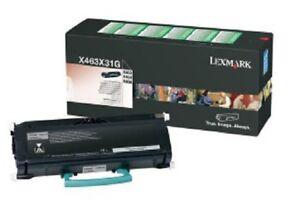 Original Toner Lexmark X463de X464de X466de X466dte X463X11G X463X31G Cartridge