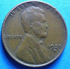 1935-S Lincoln Cent nice coin free shipping'