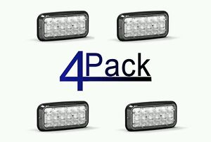 NEW 4 Pack Feniex Wide-Lux 7X3 Surface Mount Perimeter Light