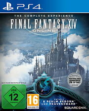 Final Fantasy XIV Online: The Complete Experience (Sony PlayStation 4, 2015)