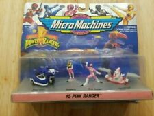 Mighty Morphin Power Rangers Micro Machines #5 Pink Ranger Kimberly 1994 74700
