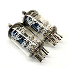 Matched Pair M8100 Ring Getter  NOS Mullard UK Valve Tubes