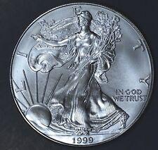 1999 1 oz AMERICAN SILVER EAGLE BRILLIANT UNCIRCULATED ASE  SKU1999B