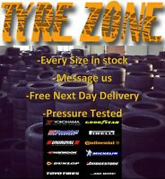 Wholesale Top Quality UK Stock Pressure Tested Part Worn Tyres Branded Summer