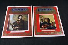 ILLUSTRATED LONDON NEWS MAGAZINE CHRISTMAS EDITIONS 1962 1964 LOT 2PC EXC COND