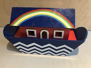 Habitat Vintage Noahs Ark With Animals Wooden Toys