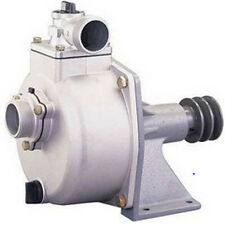 "2"" Ports - Belt Driven WATER PUMP - 7,920 GPH - Self-Priming - Aluminum Housing"