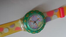 USATO OROLOGIO SWATCH 1992 SCUBA 200 SEA GRAPES SDK105 VINTAGE WATCH UHR MONTRE