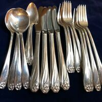 1847 Rogers Bros 20 Piece International Silver Service for 4 PATTERN CHOICE