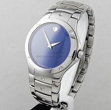 Movado Men's SE Sport Edition Blue Dial Sapphire Crystal Watch