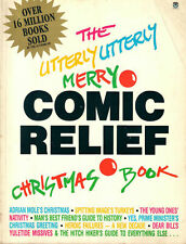 THE UTTERLY UTTERLY MERRY COMIC RELIEF CHRISTMAS BOOK<>includes Douglas Adams ~