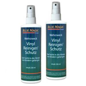 Wasserbett Vinylreiniger Wasserkern Vinyl Cleaner Blue Magic Pflegeset 2x 236 ml