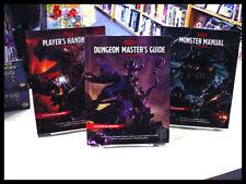 D&D 5th 3-Book Set: Player's Handbook, Dm Guide & Monster Manual New!