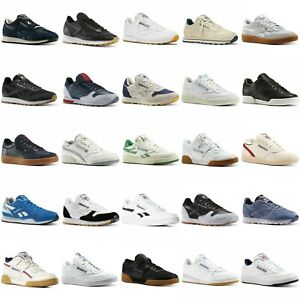REEBOK MEN'S CLASSIC TRAINERS LEATHER WORK OUT NYLON REVENGE NEW SHOES CLUB C 85