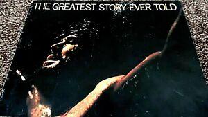 THE GREATEST STORY EVER TOLD (1965) CINEMA FILM MOVIE SOUVENIR BROCHURE PROGRAM