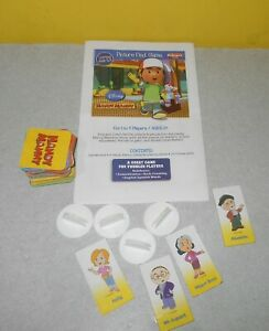 Disney Handy Manny Picture Find & Match Preschool Game Replacement Game Parts