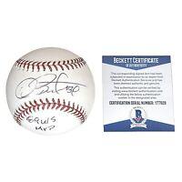 Dave Stewart Oakland Athletics A's Signed Autograph ROMLB Baseball Beckett BAS
