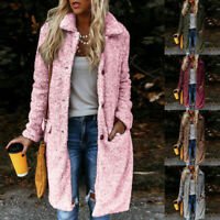 Women Ladies Knitted Sweater Long Sleeve Cardigan Top Casual Jacket Coat Outwear