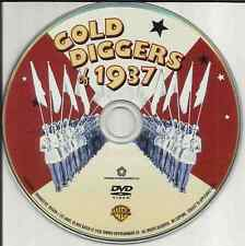 Disc Only: Gold Diggers of 1937 DVD Free Shipping