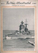 WAR ILLUSTRATED 103 HMS NELSON / RAF SYRIA / BEAUFIGHTER / VALENTINE TANK / BREN