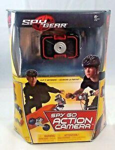 Spy Gear - Spy Go Action Camera - Clips on Anywhere