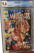 The New Mutants Marvel Comics 98 CGC Graded 9.6 NM+ WHITE Pages 1st app DEADPOOL
