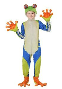 Child Kids Realistic Tree Frog Costume SIZE L (with defect)
