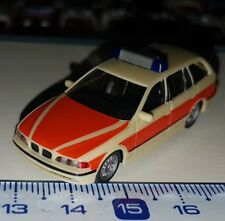 006 HERPA SPECIAL AMBULANCES NOTARZT BMW 5er REIHE SERIES SCALE 1:87 HO OCCASION