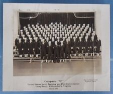 1946 Photo of Camp Peary in Virginia - U.S. Naval Training Center - Company 97