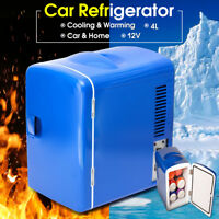12V 4L Car Fridge Mini Refrigerator Portable Thermoelectric Cooler Warmer Box