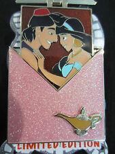 disney DSF DSSH Valentine Envelope Aladdin And Jasmine pin LE
