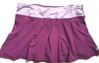 LULULEMON Run Take Flight Skirt Dew Berry/Dew Berry Wee Stripe size 4 EUC Tennis