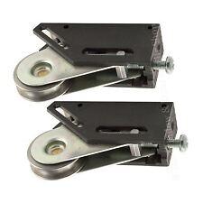 Pair Schlegel Patio Door Wheels 32mm Sliding Roller Multi Fit Stainless Steel