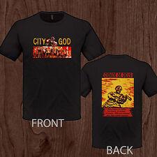 CITY OF GOD Cidade de Deus tee Brazilian best movie men S M L XL 2XL 3XL t-shirt